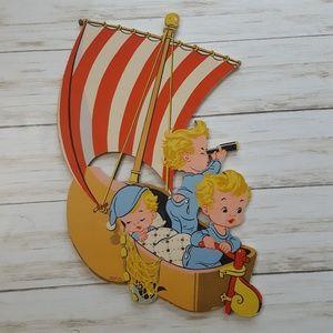 1950's Dolly Toy Winkin Blinkin and Nod wall art